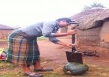 레소토의 여성들은 강합니다.