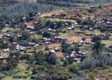 레소토 산꼭대기 스머프 마을