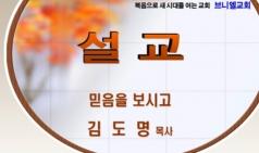 (설교) 믿음을 보시고 - 김도명목사(브니엘교회)